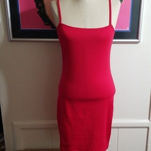 COTTON:ON BODY CON RED DRESS size Medium